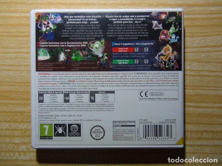 Videojuegos y Consolas: Mansión de Luigi 2 Juego para Nintendo 3DS - Foto 3 - 205726356