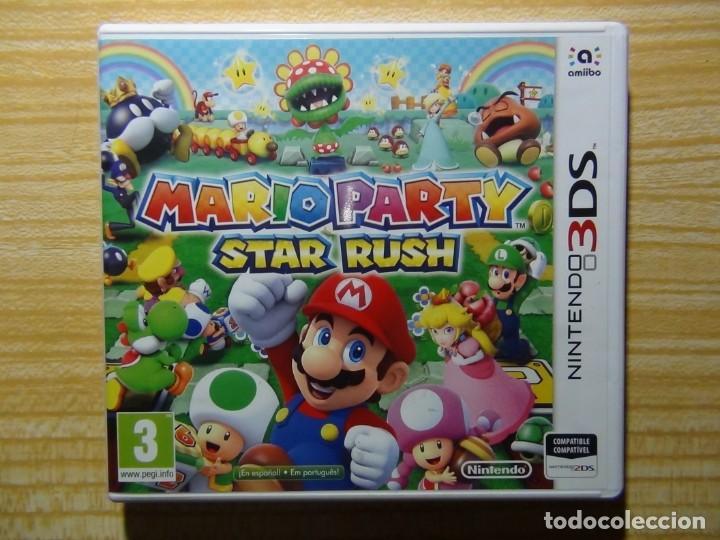 Videojuegos y Consolas: Mario Party Star Rush 3ds Nintendo - Foto 2 - 205726636