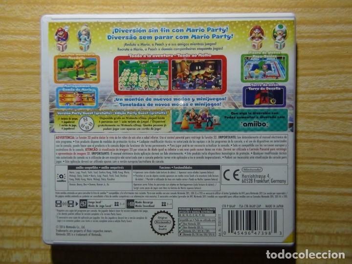 Videojuegos y Consolas: Mario Party Star Rush 3ds Nintendo - Foto 3 - 205726636