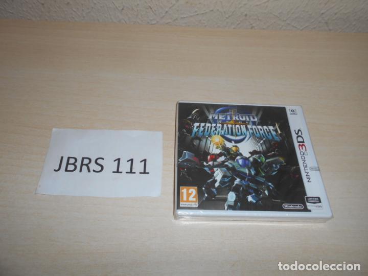 3DS - METROID PRIME - FEDERATION FORCE , PAL ESPAÑOL , PRECINTADO (Juguetes - Videojuegos y Consolas - Nintendo - 3DS)