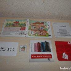 Videojuegos y Consolas: 3DS - ANIMAL CROSSING HAPPY HOME DESIGNER , PAL EUROPEO , COMPLETO. Lote 206156143