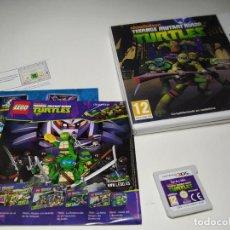 Videojuegos y Consolas: TURTLES MUTAN ( TORTUGAS NINJA ) ( NINTENDO 3DS - 2DS - PAL - ESPAÑA). Lote 206161501