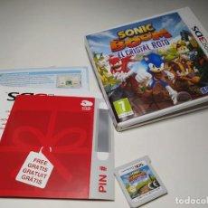 Videojuegos y Consolas: SONIC BOOM - EL CRISTAL ROTO ( NINTENDO 3DS - 2DS - PAL - ESPAÑA). Lote 206161586