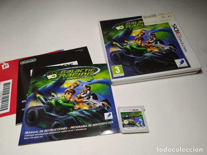 BEN 10 - GALACTIC RACING ( NINTENDO 3DS - 2DS - PAL - ESPAÑA) (Juguetes - Videojuegos y Consolas - Nintendo - 3DS)