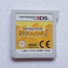 Videojuegos y Consolas: DETECTIVE PIKACHU NINTENDO 3DS. Lote 206188708