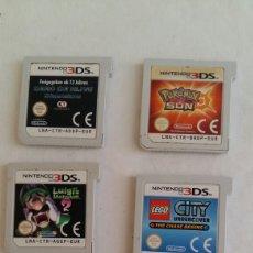 Videojuegos y Consolas: 5 JUEGOS NINTENDO 3 DS. Lote 206239012