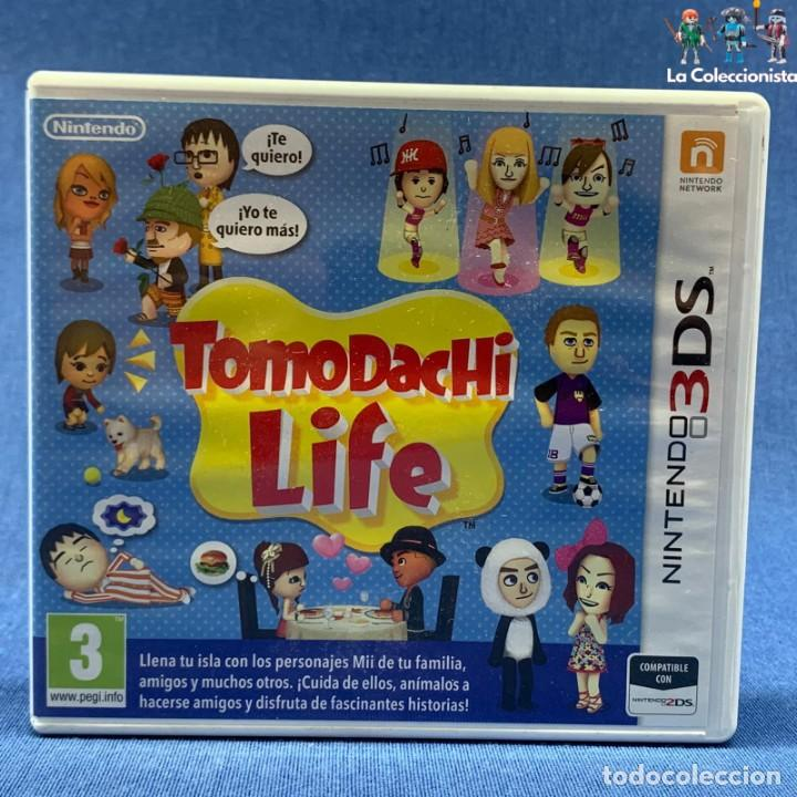 VIDEOJUEGO - NINTENDO 3 DS - TOMODACHI LIFE - SOLO CARÁTULA (Juguetes - Videojuegos y Consolas - Nintendo - 3DS)