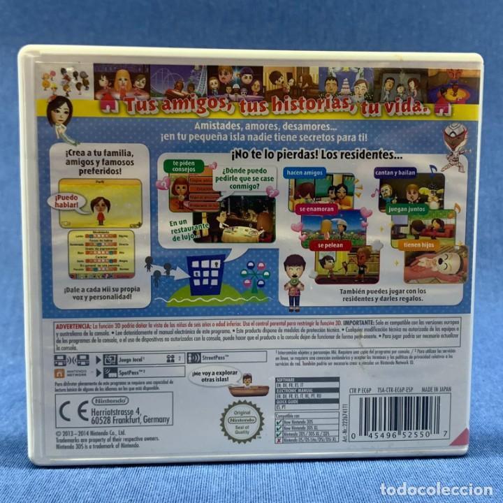 Videojuegos y Consolas: VIDEOJUEGO - NINTENDO 3 DS - TOMODACHI LIFE - SOLO CARÁTULA - Foto 2 - 206258585