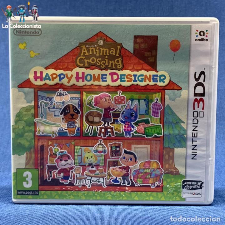 VIDEOJUEGO - NINTENDO 3DS - HAPPY HOME DESIGNER - SOLO CARÁTULA (Juguetes - Videojuegos y Consolas - Nintendo - 3DS)
