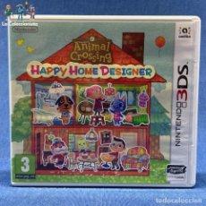 Videojuegos y Consolas: VIDEOJUEGO - NINTENDO 3DS - HAPPY HOME DESIGNER - SOLO CARÁTULA. Lote 206261110