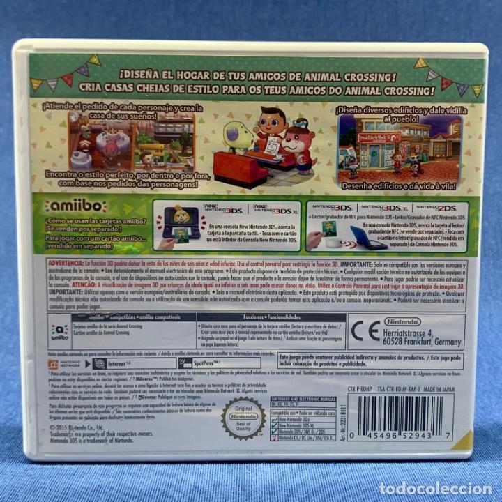 Videojuegos y Consolas: VIDEOJUEGO - NINTENDO 3DS - HAPPY HOME DESIGNER - SOLO CARÁTULA - Foto 3 - 206261110
