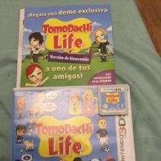 Videojuegos y Consolas: JUEGO DE NINTENDO 3DS TOMODACHI LIFE COMPLETO. Lote 208004768