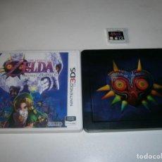 Videojuegos y Consolas: ZELDA MAJORA'S MASK 3D NINTENDO 3DS / 2DS PAL ESPAÑA INCLUYE CAJA METALICA. Lote 260758645