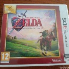 Videojuegos y Consolas: JUEGO ZELDA OCARINA OF TIME NINTENDO 3DS. Lote 209141965