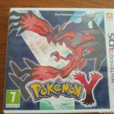 Videojuegos y Consolas: POKÉMON Y JUEGO NINTENDO 3DS. Lote 209143578