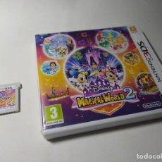 Videojuegos y Consolas: DISNEY MAGICAL WORLD 2 ( NINTENDO 3DS - 2DS) PAL - ESP. Lote 209616335