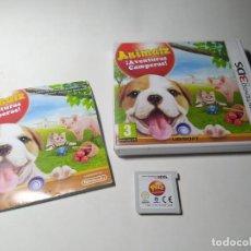 Videojuegos y Consolas: ANIMALZ ¡ AVENTURAS CAMPERAS ! ( NINTENDO 3DS - 2DS) PAL - ESP. Lote 209616428