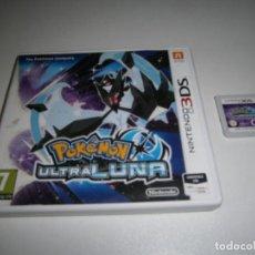Videojuegos y Consolas: POKEMON ULTRALUNA NINTENDO PAL EUR 3DS. Lote 209729190