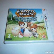 Videojuegos y Consolas: HARVEST MOON EL VALLE PERDIDO NINTENDO 3DS NUEVO PRECINTADO. Lote 209729226