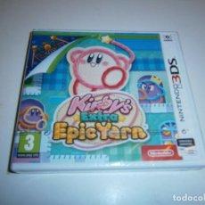 Videojuegos y Consolas: KIRBY'S EXTRA EPIC YARN NINTENDO 3DS PAL EUR NUEVO PRECINTADO. Lote 209729237