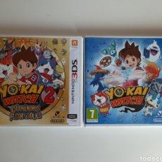 Videojuegos y Consolas: LOTE 2 JUEGOS YO KAI WATCH NINTENDO 3DS. Lote 210975665