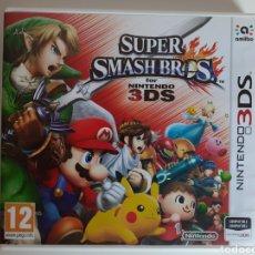 Videojuegos y Consolas: SUPER SMASH BROS NINTENDO 3DS. Lote 210975799