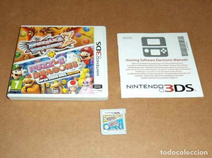 PUZZLE DRAGONS Z + PUZZLE DRAGONS SUPER MARIO EDITION PARA NINTENDO 3DS, PAL (Juguetes - Videojuegos y Consolas - Nintendo - 3DS)