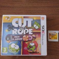 Videojuegos y Consolas: NINTENDO 3DS CUT THE ROPE. Lote 213893011