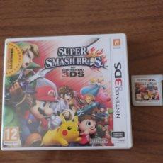 Videojuegos y Consolas: NINTENDO 3DS SUPER SMASH BROS. Lote 213894460