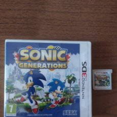 Videojuegos y Consolas: NINTENDO 3DS SONIC GENERATIONS. Lote 213966996