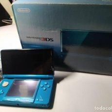 Videojuegos y Consolas: CONSOLA NINTENDO 3DS CON CARGADOR Y CAJA ( AZUL ). Lote 217276146