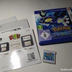 Videojuegos y Consolas: POKEMON ZAFIRO ALFA ( NINTENDO 2DS - 3DS - PAL - ESP - EURO) **. Lote 217569275