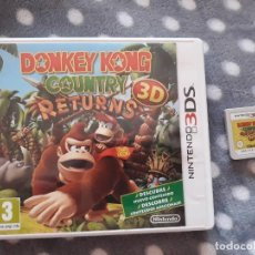 Videojuegos y Consolas: JUEGO NINTENDO 3DS, DONKEY DONG COUNTRY RETURNS. Lote 218494110