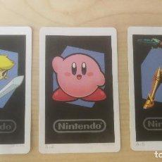 Videojuegos y Consolas: 3 TARJETAS RA, CARTAS RA. NINTENDO 3DS, PARA JUGAR REALIDAD AUMENTADA A-3,A-4,A-5. Lote 219604231