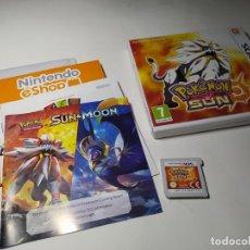 Videojuegos y Consolas: POKEMON SOL ( NINTENDO - 2DS - 3DS - PAL - UK) - EN ESPAÑOL. Lote 220298877