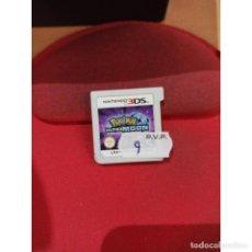 Videojuegos y Consolas: POKEMON ULTRALUNA CARTUCHO (3DS) - SEMINUEVO. Lote 221604938