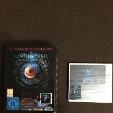 Videojuegos y Consolas: RESIDENT EVIL: REVELATIONS CON BOTÓN DESLIZANTE PRO + CAJA PROMO NINTENDO 3DS VERSION PAL ESPANA. Lote 221798440