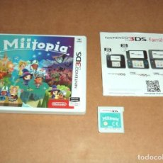 Videojuegos y Consolas: MIITOPIA PARA NINTENDO 3DS, PAL. Lote 223647370
