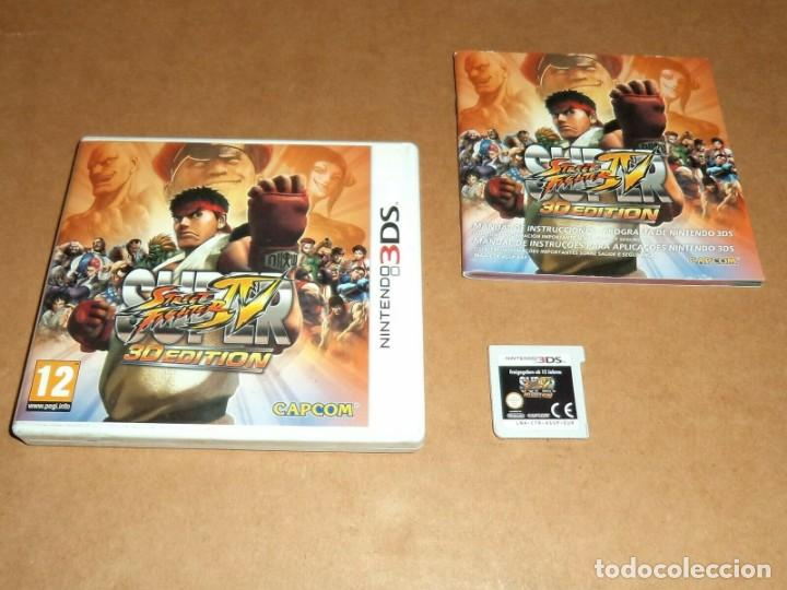 SUPER STREET FIGHTER IV 3D EDITION PARA NINTENDO 3DS, PAL (Juguetes - Videojuegos y Consolas - Nintendo - 3DS)