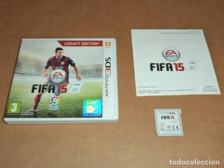 FIFA 15 PARA NINTENDO 3DS, PAL (Juguetes - Videojuegos y Consolas - Nintendo - 3DS)