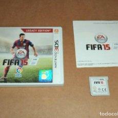 Videojuegos y Consolas: FIFA 15 PARA NINTENDO 3DS, PAL. Lote 223647587