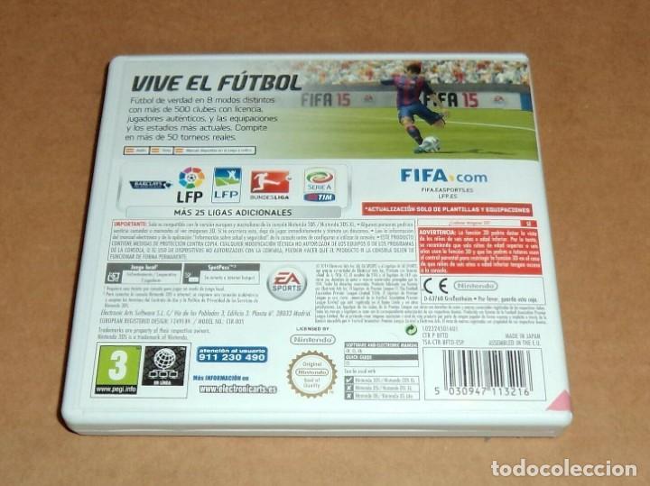 Videojuegos y Consolas: Fifa 15 para Nintendo 3DS, Pal - Foto 2 - 223647587