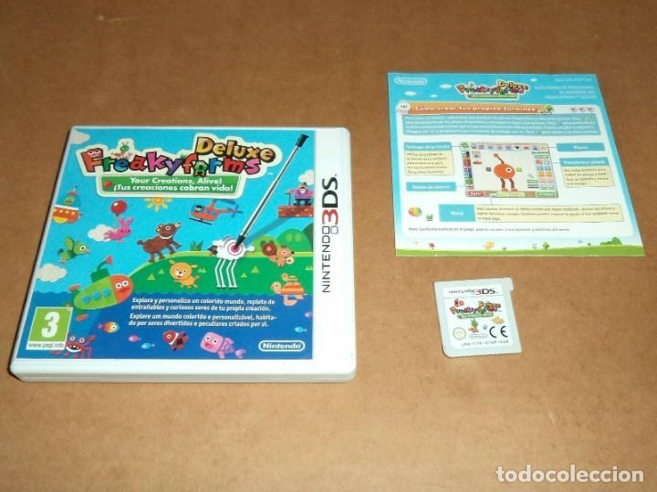 FREAKYFORMS DELUXE. PARA NINTENDO 3DS, PAL (Juguetes - Videojuegos y Consolas - Nintendo - 3DS)