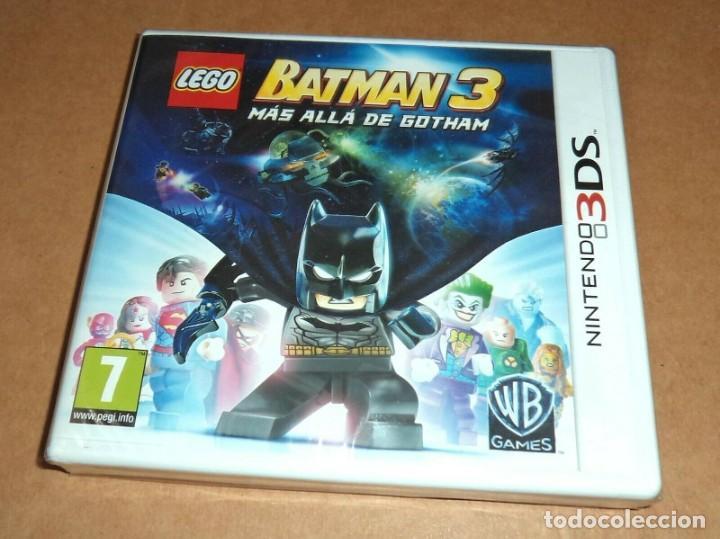 LEGO BATMAN 3, A ESTRENAR PARA NINTENDO 3DS, PAL (Juguetes - Videojuegos y Consolas - Nintendo - 3DS)