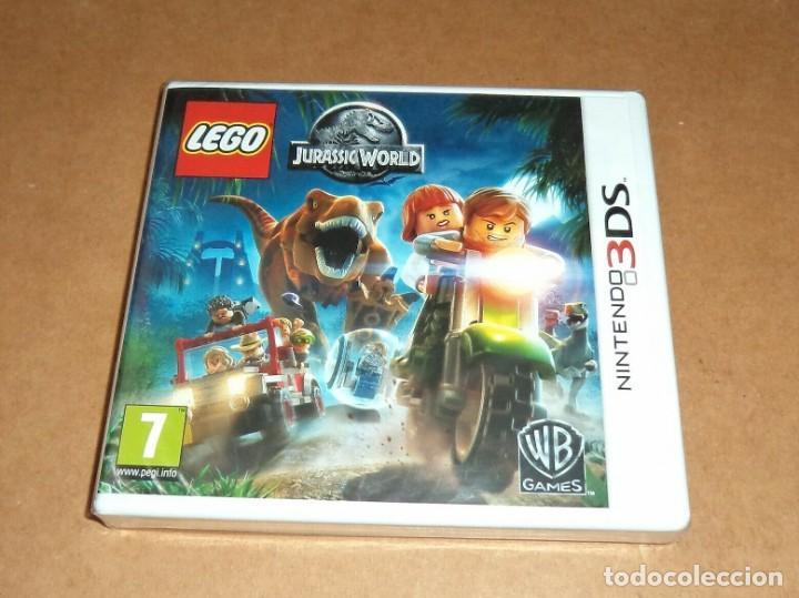 LEGO JURASSIC WORLD , A ESTRENAR PARA NINTENDO 3DS, PAL (Juguetes - Videojuegos y Consolas - Nintendo - 3DS)