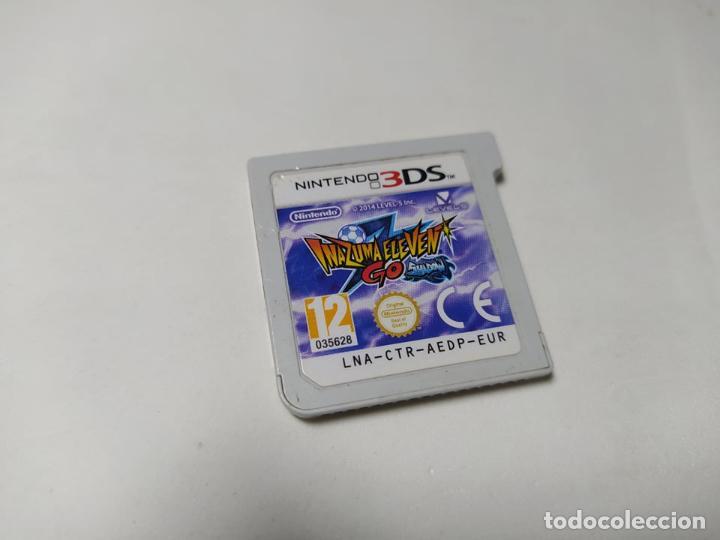 INAZUMA ELEVEN GO SHADOW ( NINTENDO 2DS - 3DS - PAL -ESP ) SOLO EL CARTUCHO! (Juguetes - Videojuegos y Consolas - Nintendo - 3DS)