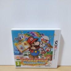 Videogiochi e Consoli: NINTENDO 3DS PAPER MARIO STICKER STAR CAJA ESTUCHE NO INCLUYE JUEGO INCLUYE FOLLETOS VER FOTO. Lote 228965870