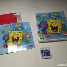 Videojogos e Consolas: BOB ESPONJA - EL GARABATO ( NINTENDO 3DS - PAL - ESP). Lote 229404380