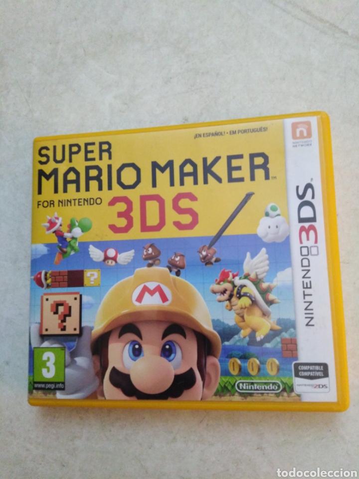 SÚPER MARIO MAKER 3DS (Juguetes - Videojuegos y Consolas - Nintendo - 3DS)