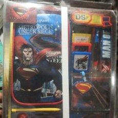Videojuegos y Consolas: KIT DE ACCESORIOS SUPERMAN COMPATIBLE CON NINTENDO 3DS XL, 3DS,ETC. Lote 231438360